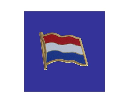 Netherlands Lapel Pin (Single Waving Flag) (Imported - Close Out)