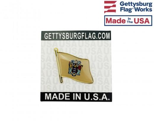 New Jersey Lapel Pin