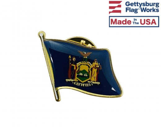 New York State Lapel Pin