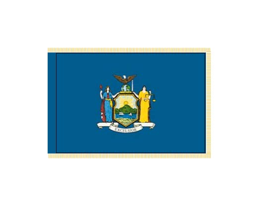 New York State Flag - Indoor