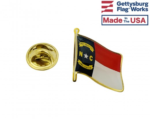 North Carolina Lapel Pin