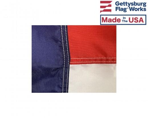North Carolina Flag Center Stitching