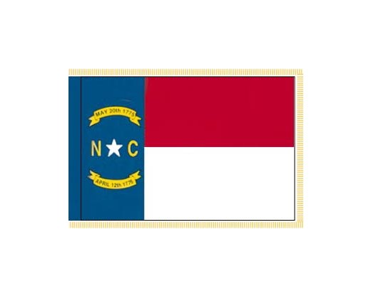 North Carolina Flag - Indoor