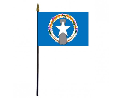 Northern Marianas Stick Flag - 4x6""