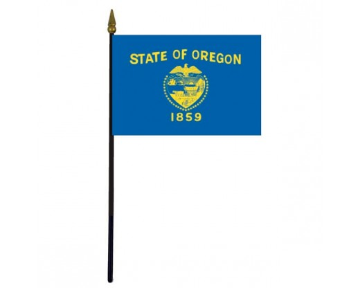 Oregon State Stick Flag - 4x6""
