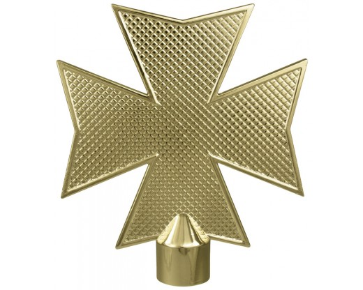 Maltese Cross Flagpole Ornament