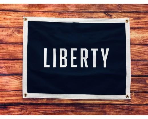 Liberty camp flag