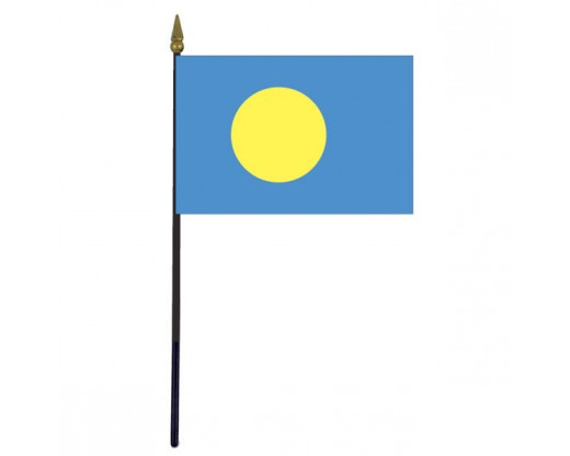 Palau Stick Flag - 4x6""