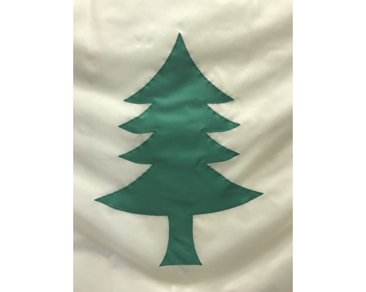 original maine flag tree