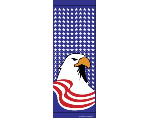 Patriotic Eagle Avenue Banner
