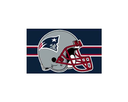 New England Patriots Flag (Big Helmet)