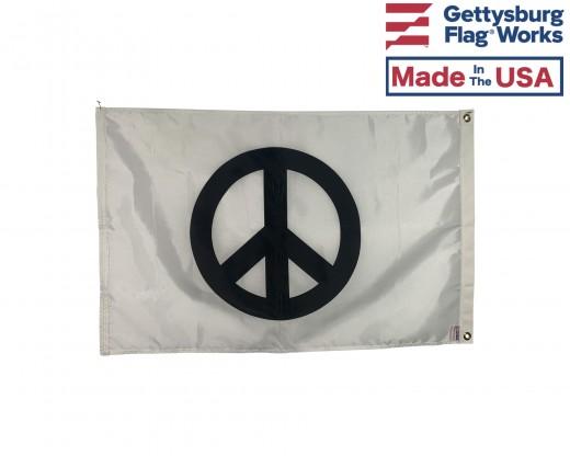 Classic Peace Sign Flag