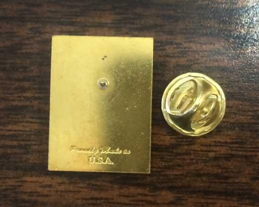 Pearl Harbor Lapel Pin Back