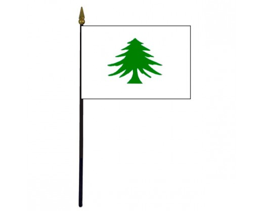 Pine Tree Stick Flag (Liberty) - 4x6""