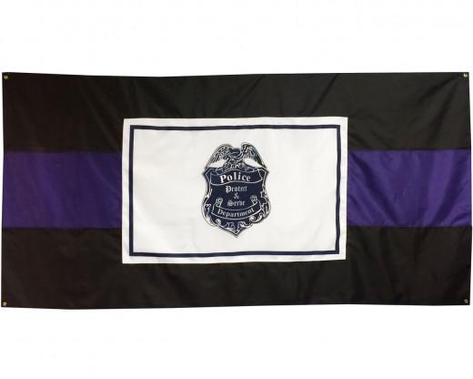 Police Officer Casket Drape