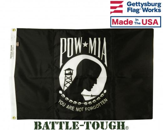 Battle-Tough PO/MIA flag