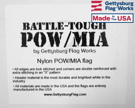 Battle-Tough POW/MIA