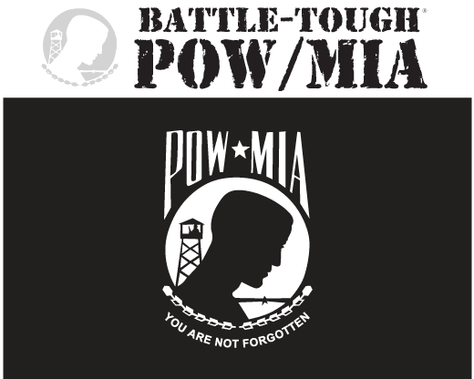 Battle-Tough POW/MIA Flag
