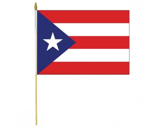 Puerto Rico Stick Flag