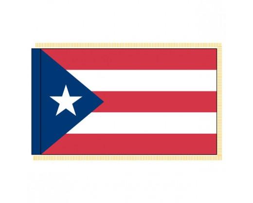 Puerto Rico Flag - Indoor