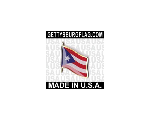 Puerto Rico Lapel Pin