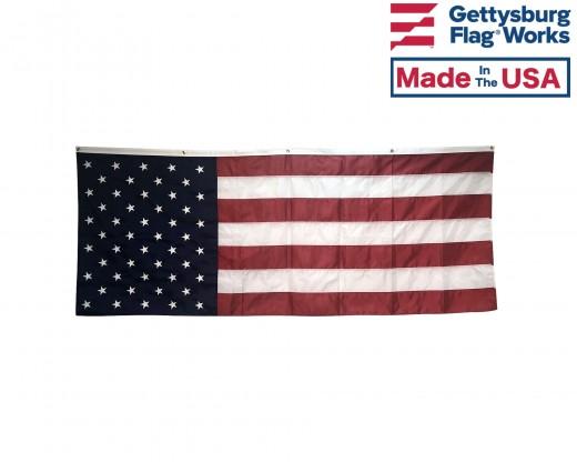 American Flag Pull Down-8x3'