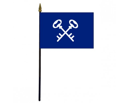 Quartermaster Stick Flag - 4x6""