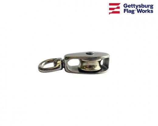 "Swivel Eye Aluminum Pulley-1.25"""