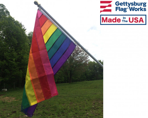 Original rainbow pride flag
