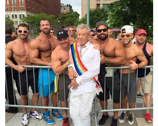2017 Grand Marshal at the DC Pride Parade