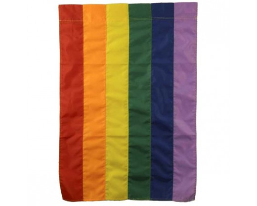 Rainbow Flag with a pole sleeve