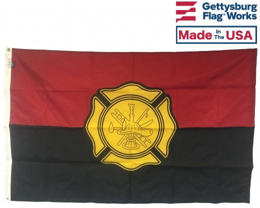 Fireman Remembrance Flag - 3x5'