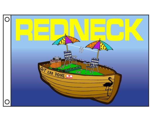 Redneck Boat Flag
