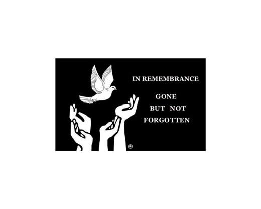 Remembrance Flag - 3x5'