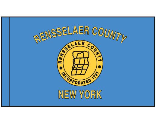 County Of Rensselaer Flag