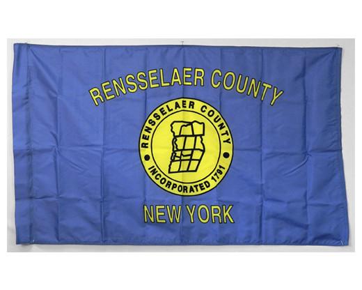 Rensselaer County Flag