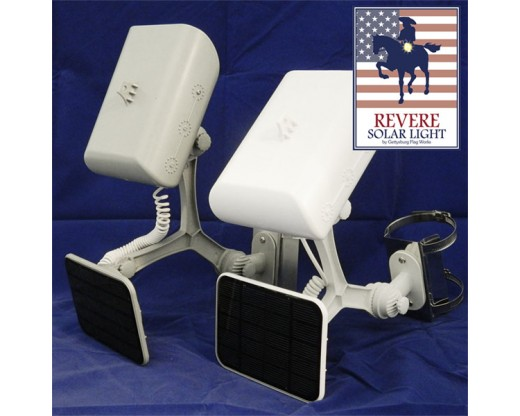Revere Solar Flag Pole Lights