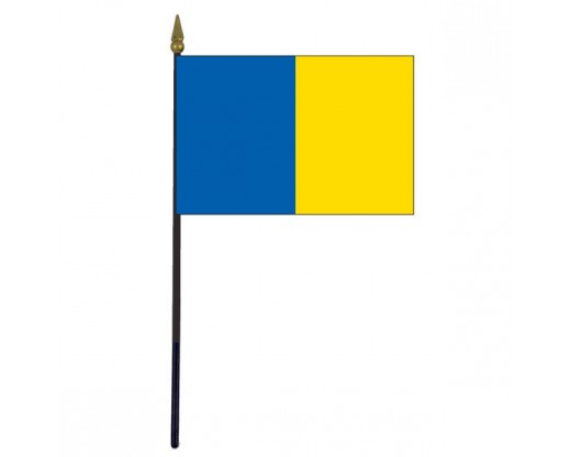Roscommon County Stick Flag (Ireland) - 4x6""