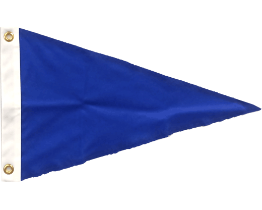 Royal Blue Pennant