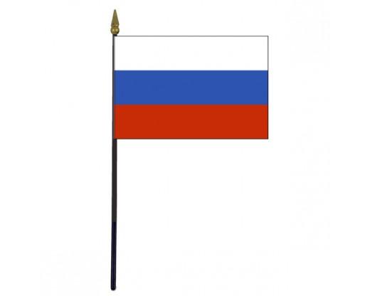 "Russian Federation Stick Flag - 4x6"""