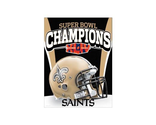 Saints Superbowl Banner Banner (Closeout)