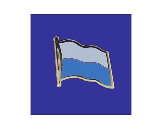 San Marino Lapel Pin (Single Waving Flag)