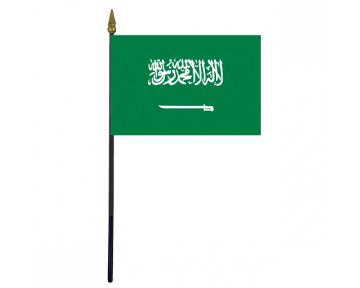 Saudi Arabia Stick Flag - 4x6""
