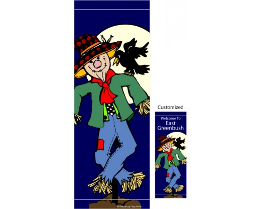 Scarecrow Avenue Banner