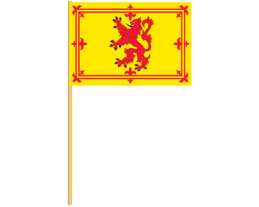 Scotland Royal Banner Cotton Stick Flag