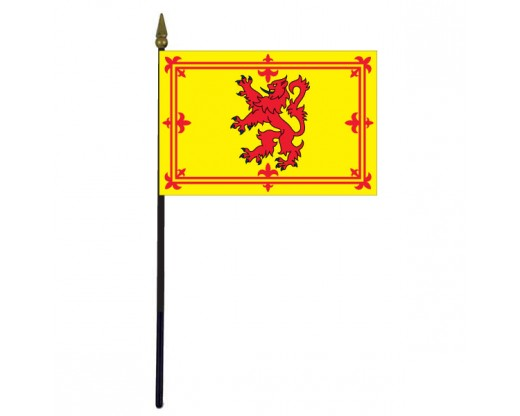 Scotland Lion Stick Flag
