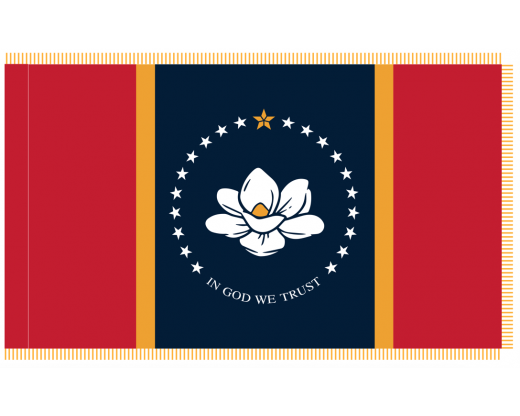 Mississippi Indoor Flag