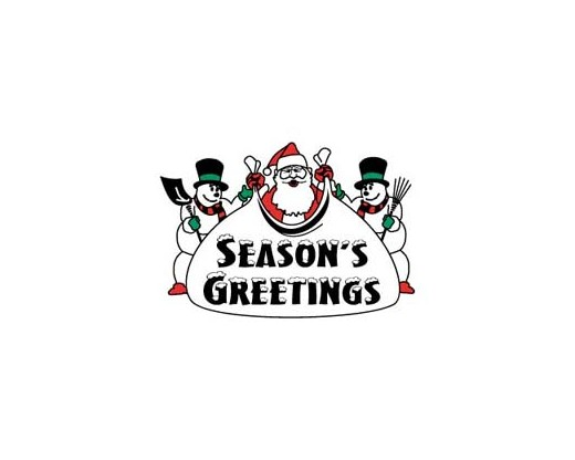 Season's Greeting Flag - 3x5'