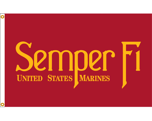 semper fi flag marine corps flags armed forces flags military