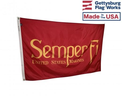 Marine Corps Semper Fi Flag